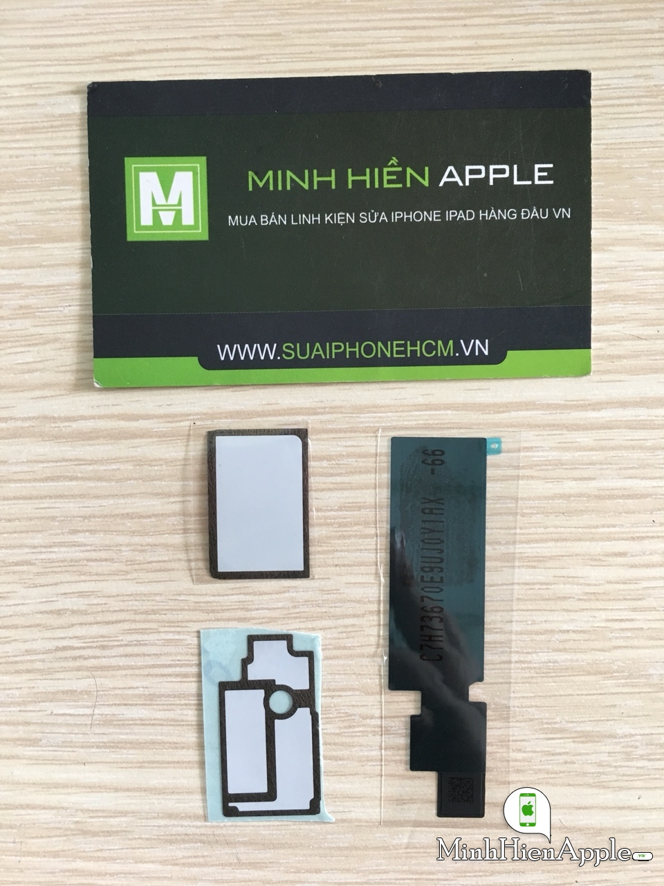 Bộ seal dán main, QR iPhone 8